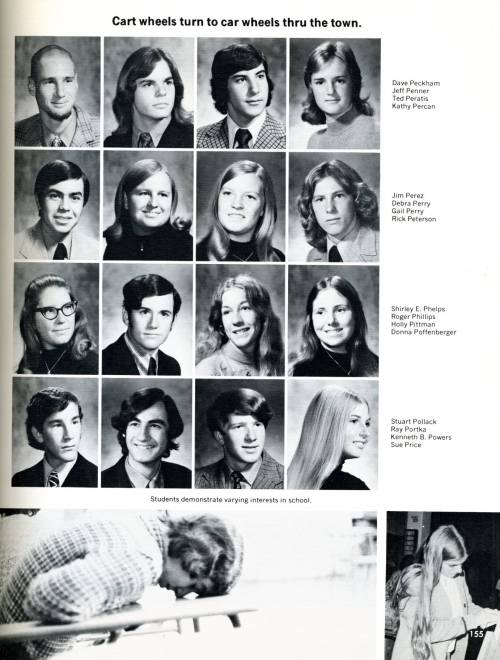 THS 1973 Senior Yearbook Photos